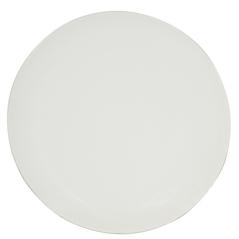 4190-01 Тарелка десертная матовая белая 20cм