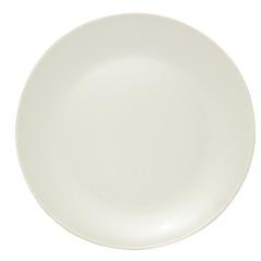 4190-04 Тарелка десертная матовая кремовая 20см