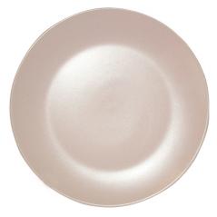 4190-06 Тарелка десертная матовая розовая 20см
