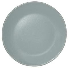 4190-05 Тарелка десертная матовая голубая 20см
