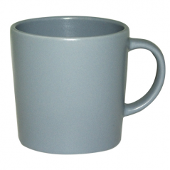 4192-05 Чашка матовая голубая 380мл
