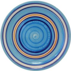 557-001 Тарелка 10,5' D Голубая нежность