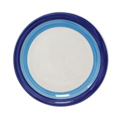 557-002 Тарелка 7,5' A Синий ободок