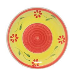 557-002 Тарелка 7,5' C Красный цветок