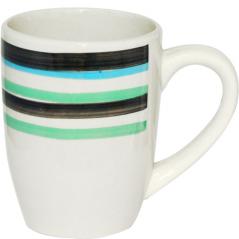 557-004 Чашка 300мл B Черный ободок