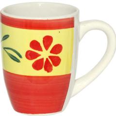 557-004 Чашка 300мл C Красный цветок