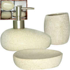 887-09-01 Набор аксессуаров для ванной комнаты Loft 3пр