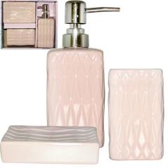 887-02-01 Набор аксессуаров для ванной комнаты Рубин 3пр
