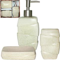 887-10-01 Набор аксессуаров для ванной комнаты Classic 3пр