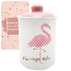 700-10-13 Емкость для сыпучих продуктов 700мл 'Фламинго'