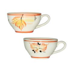 50196 Чашка Чайная осень красная 380мл