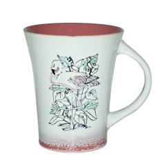 239-01 Чашка Розовый фламинго 520мл