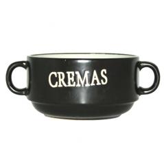 3590-06 Бульонница с ручками Крем суп 400мл