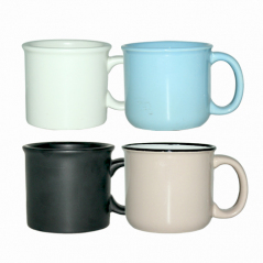 4167-01 Чашка черная 400мл вариант от 1 до 4 цв.