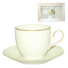 233-02 Чашка с блюдцем Сюита Limited edition