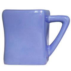 3574-07 Чашка Голубой куб 460мл