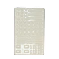 887-00-04 Подставка для зубных щеток Алмаз