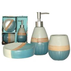 887-07-01 Набор аксессуаров для ванной комнаты Luxury  3пр