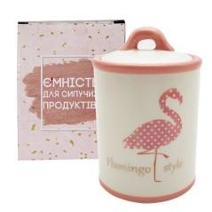 700-12-13 Емкость для сыпучих продуктов 950мл 'Фламинго'