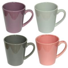 4165-04 Чашка микс 340мл вариант от 1 до 4 цв.