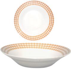 300885-03 Тарелка суп 8' Оранж