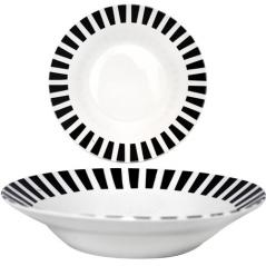 300884-03 Тарелка суп 8' Зебра