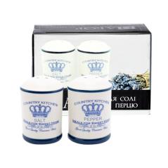 700-08-12 Набор для соли и перца 'Империя' 4,5 * 7 см (36)