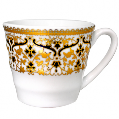 13658-01 Чашка кофейная 80мл Нефертити