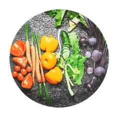 337 Тарелка круг 8' - 20см (Овощи)