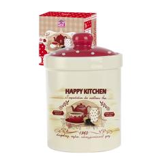 6922-11 Емкость для сыпучих продуктов 700мл  'Happy Kitchen' (24)