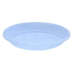 113943 фиол-прозр Подставка под вазон дренажный 14*10,5см (фиолетовая прозрачная)