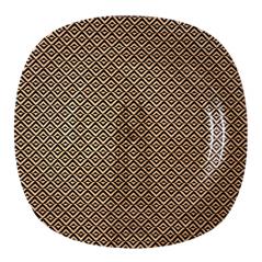 3715-1 Тарелка квадр 8' - 20см (Аргайл)