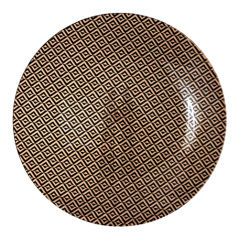 337-1 Тарелка круг 8' - 20см (Аргайл)