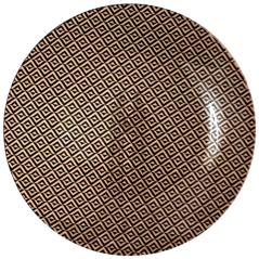 309-1 Тарелка круг 10' - 25см (Аргайл)