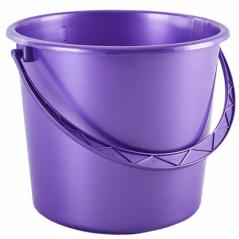 122008 фиол.перл Ведро 8л (фиолетовый перламутр)