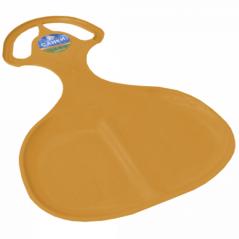122093 св.оранж Санки 'Ледянки' (светло-оранжевый) 58*39*2,2см