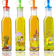 702-5 Бутылка для растительного масла / уксуса 270мл <a href='http://snt.od.ua/ru/poisk.html?q=Микс' />Микс</a>