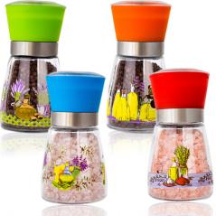 7032-5 Мельница для соли и перца (стекло)  <a href='http://snt.od.ua/ru/poisk.html?q=Микс 1' />Микс 1</a>80мл