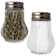 7001-03 Емкость для соли и перца (прозрачная без деколи) 50мл