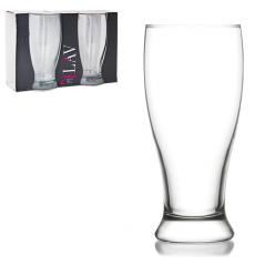 7-018 Набор бокалов для пива 2 шт. Бротто 565мл