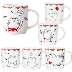 4160-29 Чашка Cat story 360мл