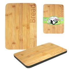 8840 Доска разделочная бамбуковая Хлеб 20*30*1,5см