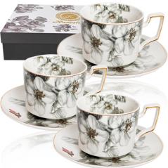 1756 Набор чайный 12пр (чашка-230мл, блюдце-15см) Симфония
