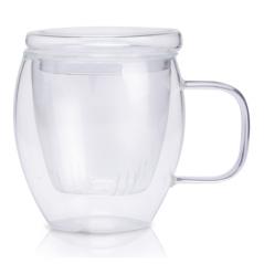 201-17 Заварочная чашка со стеклянным ситом 300мл Финестра