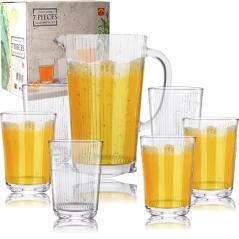 9449 Набор 7 пр. (графин 1,6л+6 стаканов по 400мл)