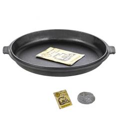 Т310 Сковорода-крышка чугунная литая 33*4см