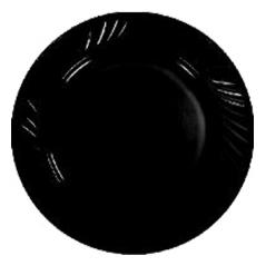 30357-02 Тарелка 8' Черная