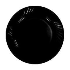 30357 Тарелка 7' Черная