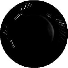 30358 Тарелка 9' Черная