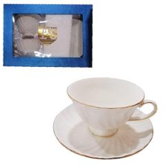 234-01 Набор (2 чашки 200мл + 2 блюдца 14,5см) Соул Limited edition